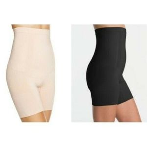 Spanx 1915 Oncore High Waisted Mid Thigh NUDE SZ.S